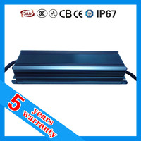 5 years warranty high PFC waterproof IP67 2.1A 100W constant current currency LED driver