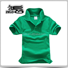 Unisex golf polo shirt for promotion used