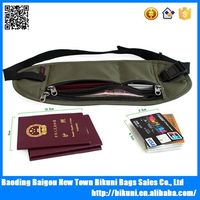 Alibaba Unisex Travel Security Waterproof Running Waist belt,Waist Pack,Travel Money Belt