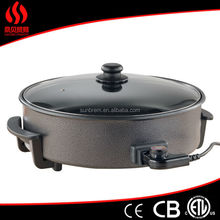 Non stick divided frying pan eupa toaster gate grill design