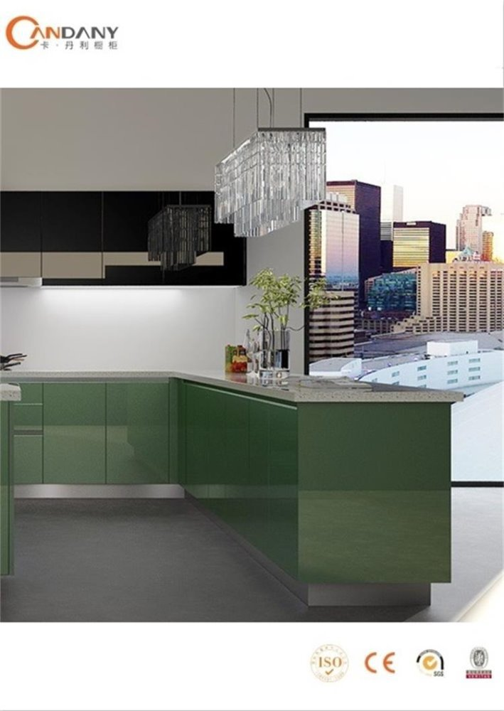 Kitchen Cabinet High Gloss Acrylic MDF Discontinued Kitchen Cabinets