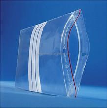 Plastic ziplock bag Heat Seal Sealing & Handle plastic packaging bag