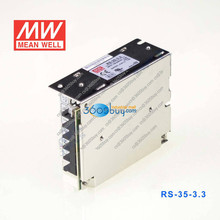 RS-35-3.3 35W 3.3V 7A Mean well switching power supply