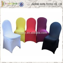 Competitive price cheap colorful chair and table covers