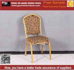 hotal chair purple color jacquard chair cover with high quality
