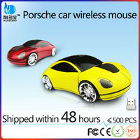 Promotional gift for car about racing usb wireless car mouse