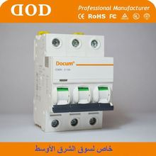 switchgear transformer dz47 mcb Zhejiang FACTORY breaker for industrial