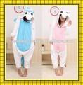 venta al por mayor super suave animales unicornio onesie pijama de franela para adultos divertido unicornio pijama para la venta