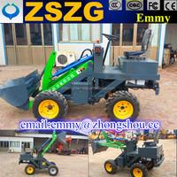New small shovel wheel loaders / battery mini electric loader / skid steer loader for sale