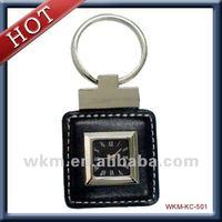 2014 new design fashionable keychain clock