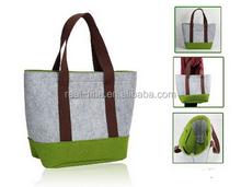 2015 New Fashion Japanese Style Simple Shoulder Bag Shopping Wool Felt Handbag For Women And Men Handbag