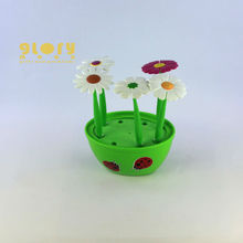 SOFT PU PLASTIC NOVELTY FLOWER BALL PEN PEN 2015