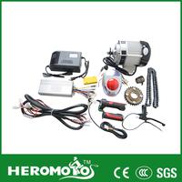 battery powered auto e-rickshaw kit and spare parts/ e bajaj conversion kit