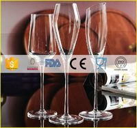 Design best selling cheap coupe champagne glasses