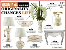 2015 newest home decor accessories set ceramic craft for indoor decoration.