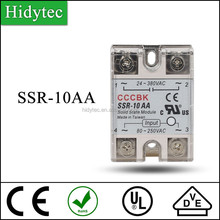 High quality fast delivery SSR-10AA Big Power solid state variable relay