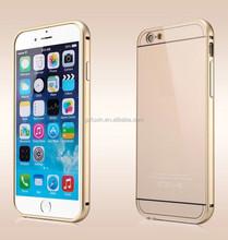Luxury Metal Dual Use 100% Aluminum Case New for iPhone 6, for iphone 6 case, for apple iphone 6 mobile phone case