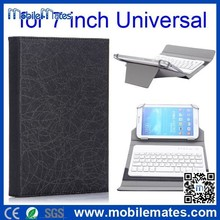 Wholesale Detachable Bluetooth Keyboard Case for 7 inch Tablet PC Universal Flip PU Keyboard Leather Case for 7 inch Tablet PC