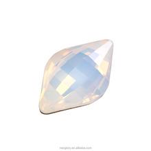 Swarovski Elements DIY Jewelry Lemon type White Opal 234 odd stone 4230-23*15MM