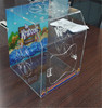 Handmade clear wholesale acrylic reptile display cases from China