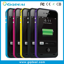 2000mah for iPhone 4 Battery Case, External Backup Battery Case for iPhone 4 4S