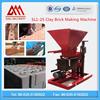Diesel or Electric power SL1-25 hydraulic Semi-automatic interlocking brick making machine most profitable business
