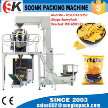 SK-220DT vertical weighting and packing machine for food