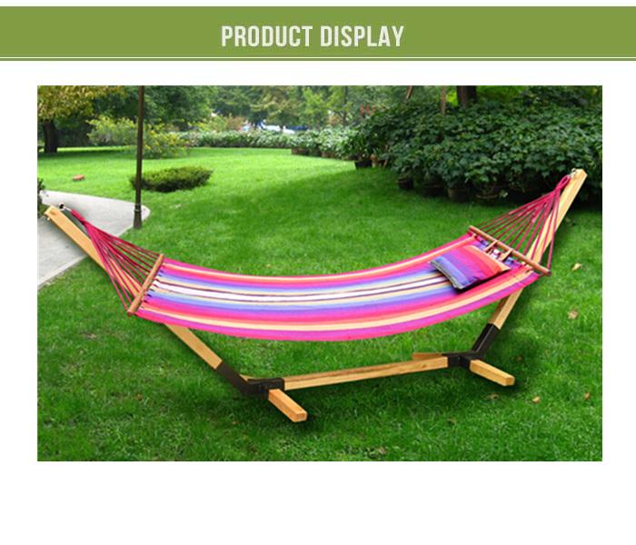 HD Steel Hammock Stand Travel camping RV outdoor swing yard deck patio ...