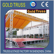 2015 best sale portable stage mobile stage for outdoor event