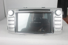 Special 2 din android touch screen toyota hilux with gps, ipod, Wifi, ATV, 3g, mirror link functions