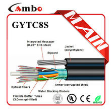 Fiber Optical Cable For SM 32 core single fiber optic cable with Armoured