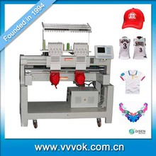 2 head cap embroidery machine for sale