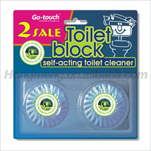 Blue Automatic Good Toilet Bowl Cleaner Cistern Block