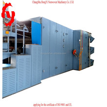 HY- hx cloth waste recycling machine for felt madtress and felt production line