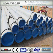 ASTM A106/A53 seamless hot dip galvanized fence pipe