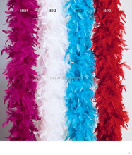 wholesale cheap scarf ostrich feather boas FW-0043
