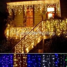 2015 New Hot Christmas decoration led icicle light for holiday decoration