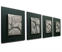 modern art 3D relief picture embossing elephant paintings
