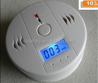 Best price LCD display kidde carbon monoxide detector alarme with battery