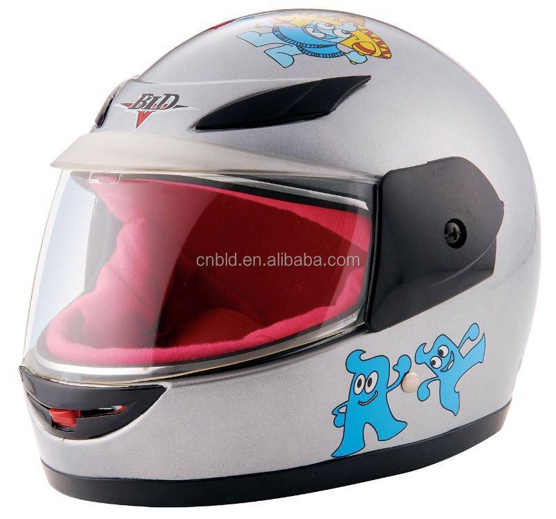 Anime Motorcycle Helmet Kids Plastic Motorcycle Helmet