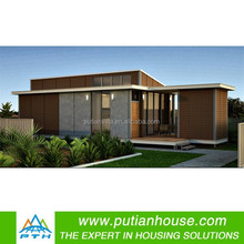 Moder design well decorated modular steel house
