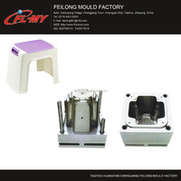 high quality bathroom plastic stool injection mould