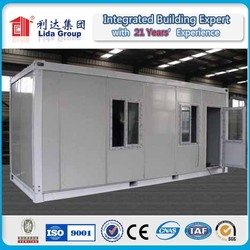 Low cost Container House movable camp house labor colony/ Fireproof sandwich panel container cabin
