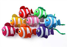 Tropical fish environmental Shopping bag multi-color reusable foldable handle bag