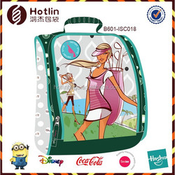 Golf Life Green Insulated Beauty Lunch Bag For Office