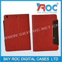 2013 Simple leather pouch Wallet Leather case suitable for ipad mini