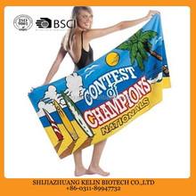 2015 factory custom 3d picture printed microfiber sex women photo beach towel