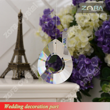 China Wholesale crystal teardrop prism for wedding decoration centerpieces