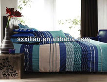 wholesale blue-green superior bed set/linen/sheet/pillow/comforter