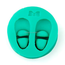 A Pair Of Shoes Silicone Fondant Cake Mold Decorating Tool .Candy mold ,